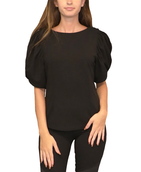 Puff Sleeve Blouse - Fox's