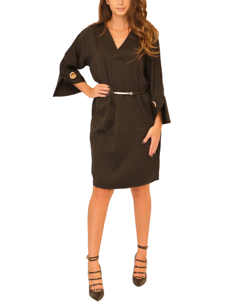 Sheath Dress w/ Belt - Fox's