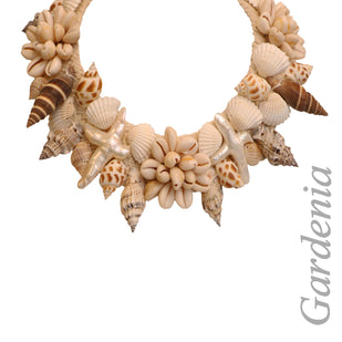 Mixed Seashell Collar Necklace