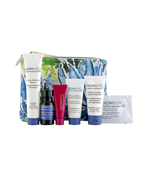 Zoom view for Glowbiotics MD Probiotic Deluxe Sample Kit- Normal to Dry Skin