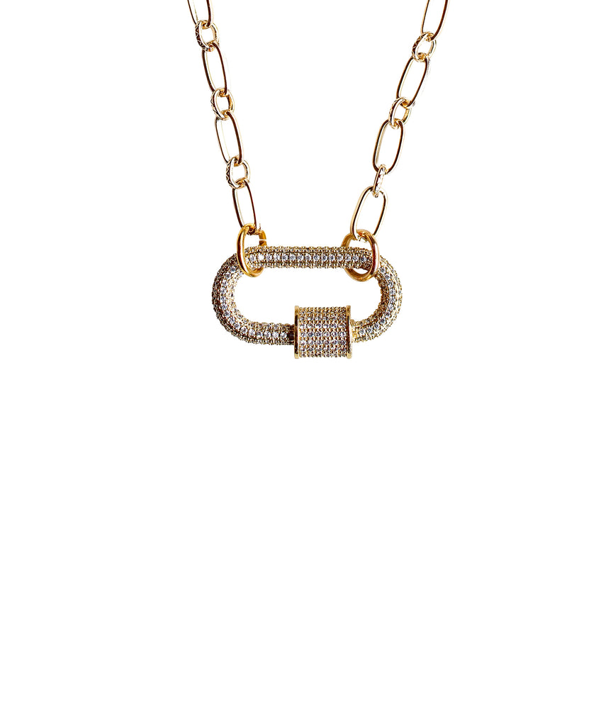 Chain Link Necklace w/ Quick Link