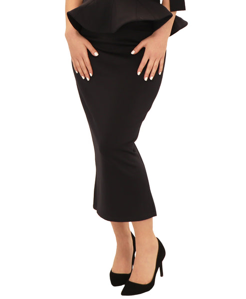Zoom view for Scuba Midi Skirt