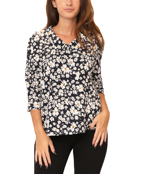 Floral Print Blouse - Fox's