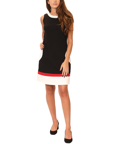 A-Line Colorblock Dress - Fox's