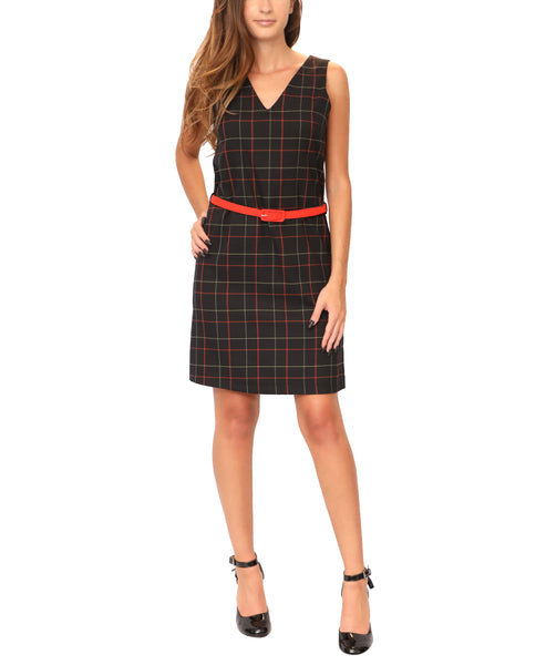 Sheath Dress w/ Belt