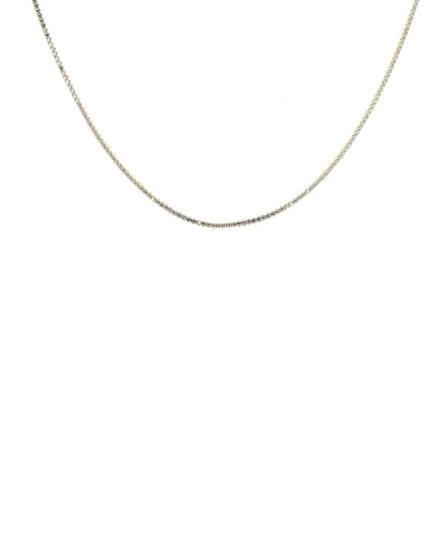Zoom view for Dainty Tennis Necklace w/ Cubic Zirconia