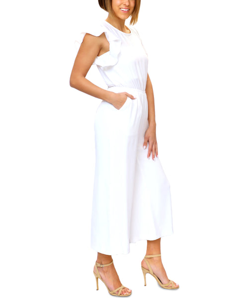 Zoom view for Jumpsuit w/ Flutter Sleeves