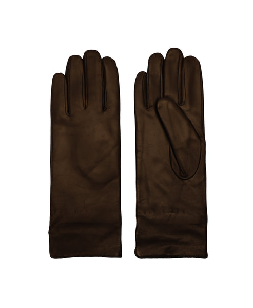 Leather Glove w/ Contrast Lining