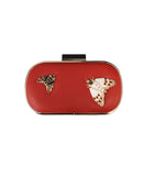 Embellished Clutch Handbag - Fox's