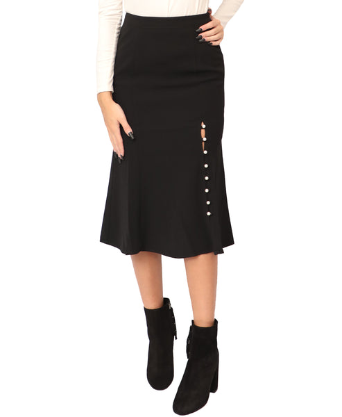 Fit & Flare Skirt w/ Pearls - Fox's