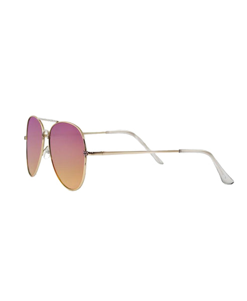 Aviator Sunglasses w/ Swarovski Crystals