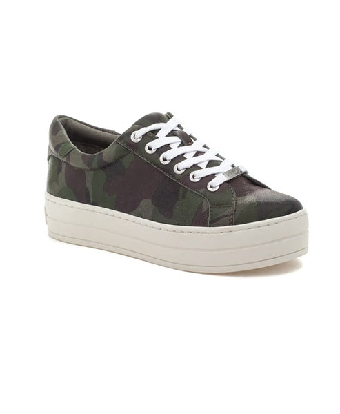 Zoom view for Lace Up Camo Sneaker