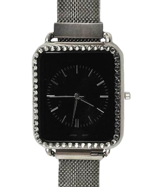 Watch w/ Swarovski Crystals - Fox's