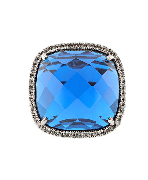 Zoom view for Cubic Zirconia Statement Ring A
