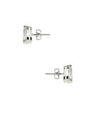 Pear Cut Cubic Zirconia Stud Earrings (approx. 0.84 ct. t.w.)