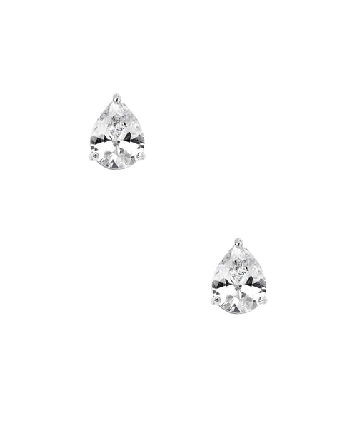 Zoom view for Pear Cut Cubic Zirconia Stud Earrings (approx. 0.84 ct. t.w.)