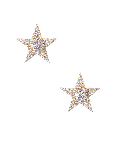 "Zoom view for ""Radiant Stars"" Earrings"