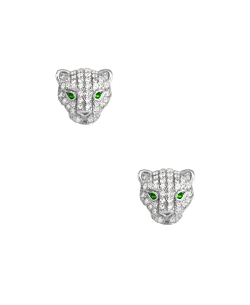 Zoom view for Baby Panther Earrings  ONLINE EXCLUSIVE