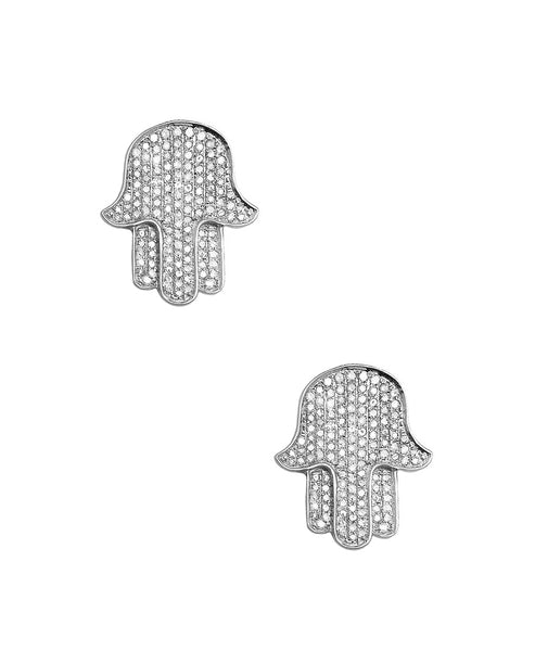 "Zoom view for ""Hamsa"" Earrings"