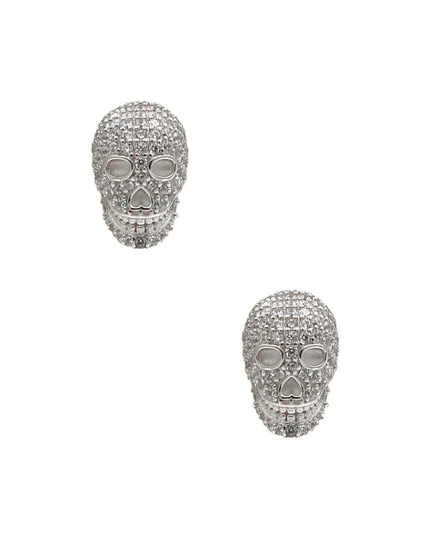"Zoom view for ""Skull"" Earrings"
