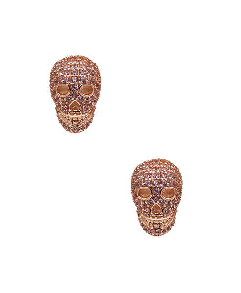 "Zoom view for ""Skull"" Earrings A"