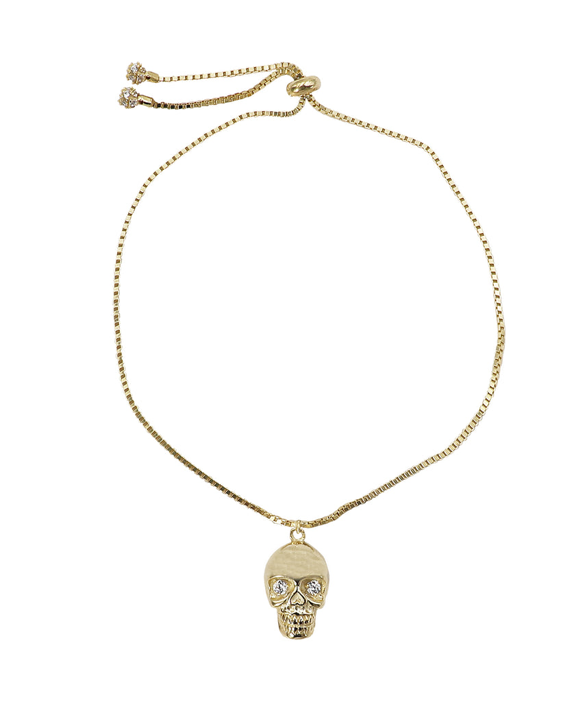 """Skull"" Adjustable Bracelet"