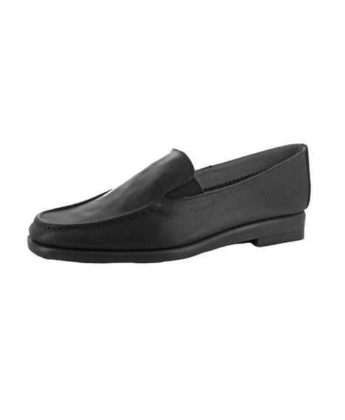Zoom view for Leather Flat Loafers - Fox's