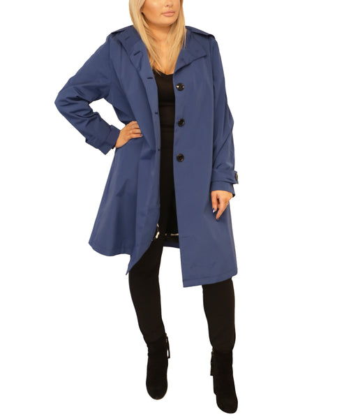 Extended Size A-Line Coat - Fox's