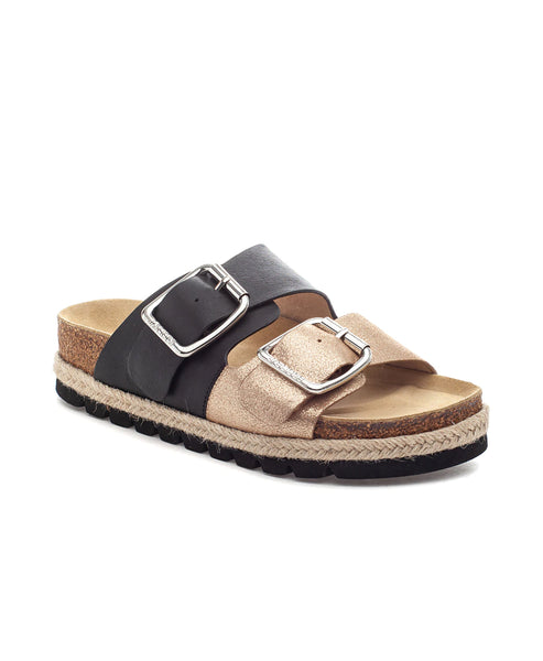 Zoom view for Double Band Footbed Sandal