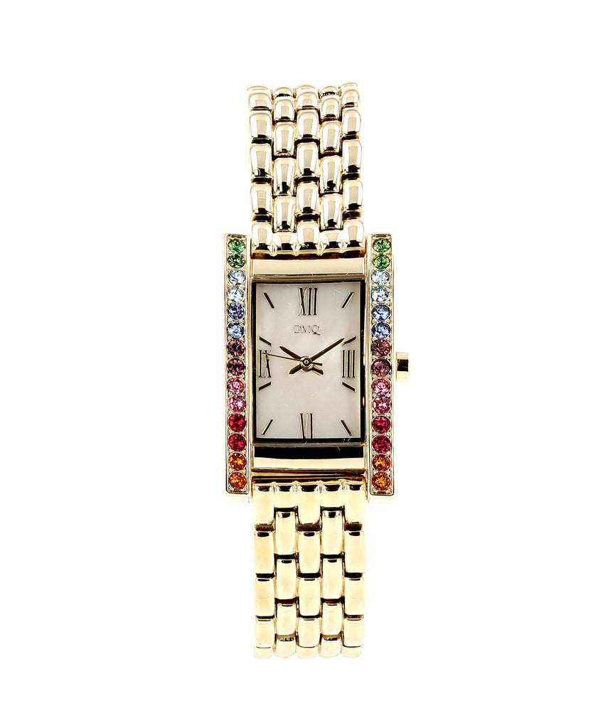 Stainless Steel Watch w/ Mother of Pearl