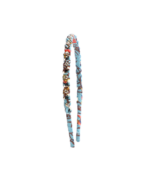 Zoom view for Wrapped Chain Headband w/ Rhinestones A