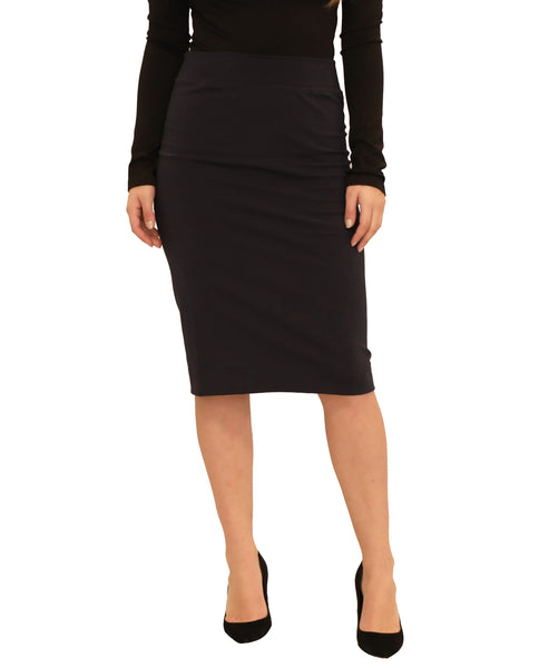 Pull On Pencil Skirt