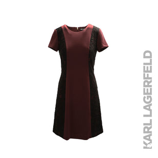 Short Sleeve Dress w/ Lace Sides