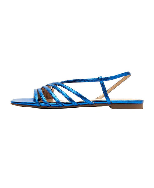 Zoom view for Metallic Strappy Sandal
