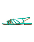 Metallic Strappy Sandal