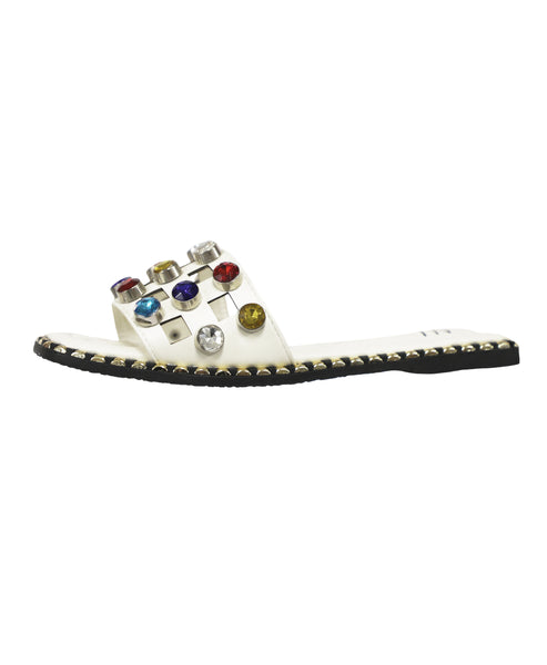 Zoom view for Multi Color Rhinestone Flat Slide