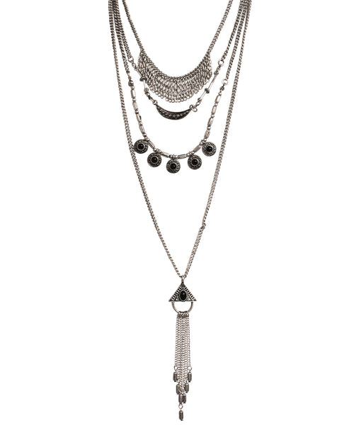 Zoom view for Layered Drop Necklace