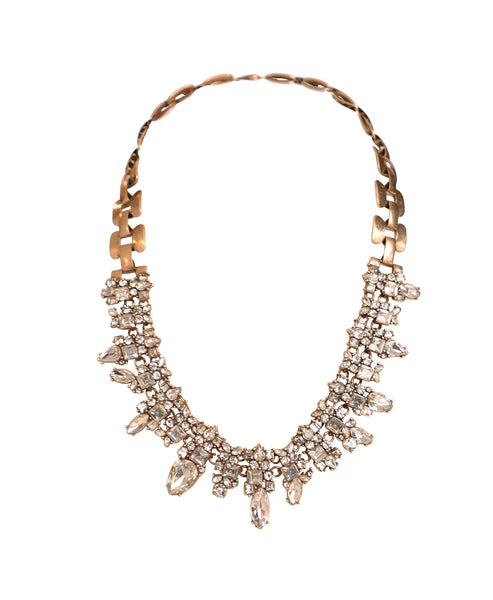 Zoom view for Crystal Collar Necklace