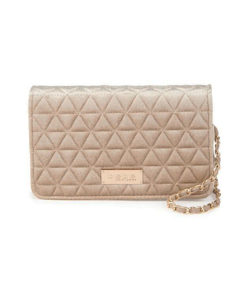 Velvet Quilted Handbag - Fox's