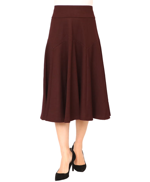 Drop Waist Circle Skirt - Fox's