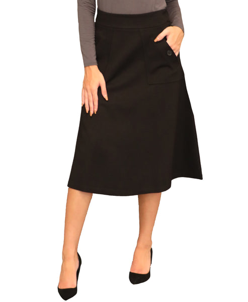 A-Line Skirt w/ Pockets