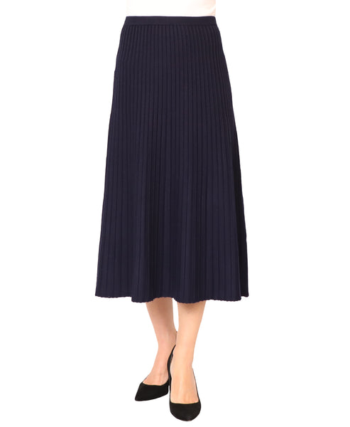 Pleated Knit Skirt - Fox's