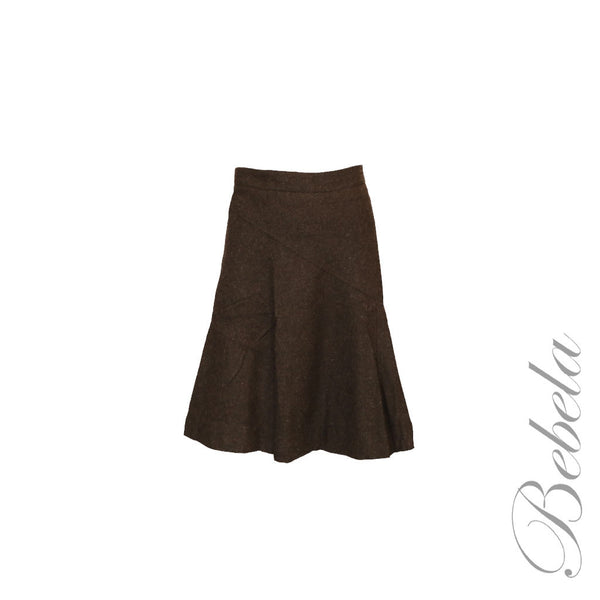 Seamed Flair Skirt