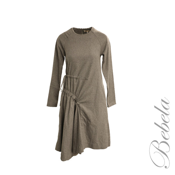 Ruched Side Tie Dress