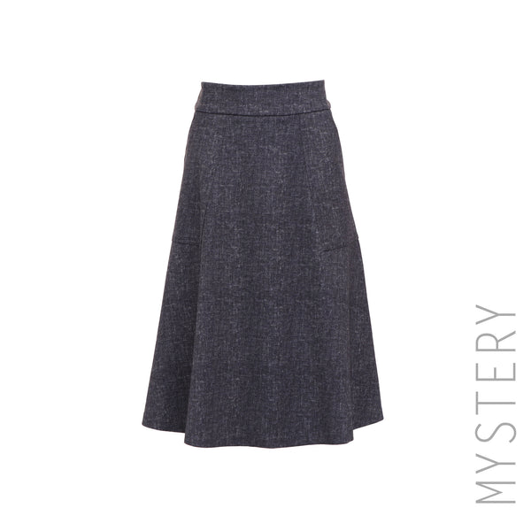 Fit & Flare Patch Pocket Skirt
