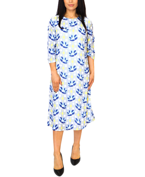 Zoom view for A-Line Geo Print Dress