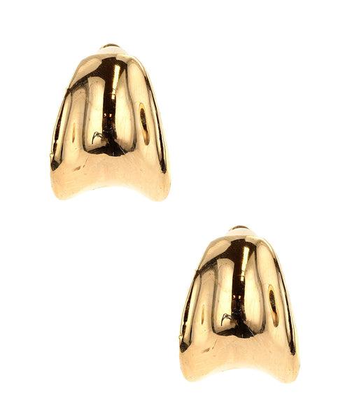 Zoom view for Curved Clip On Earrings