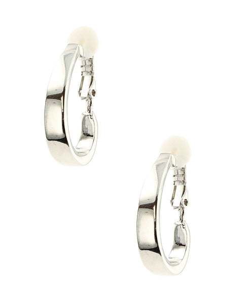 Zoom view for Clip On Hoop Earrings - Fox's