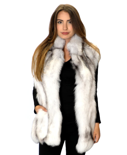 Zoom view for Fox Fur Vest