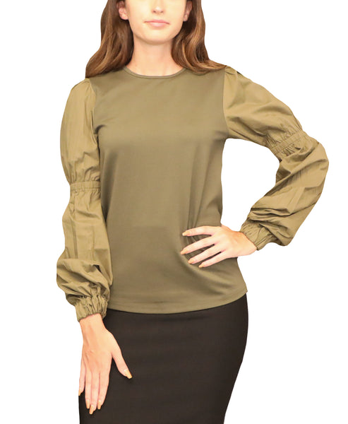 Top w/ Puff Sleeves